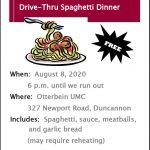 Spaghetti Dinner 2020